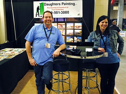 Scott and Misty Daughters Spokane Trade show